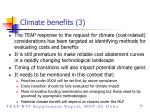 climate benefits 3