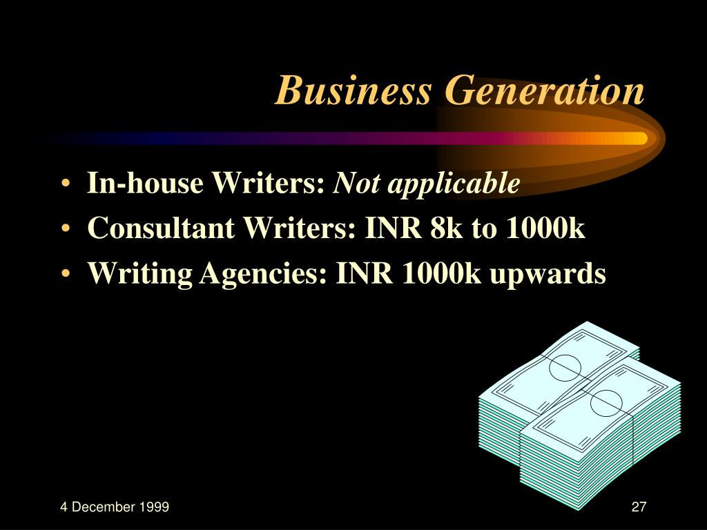 Business Generation