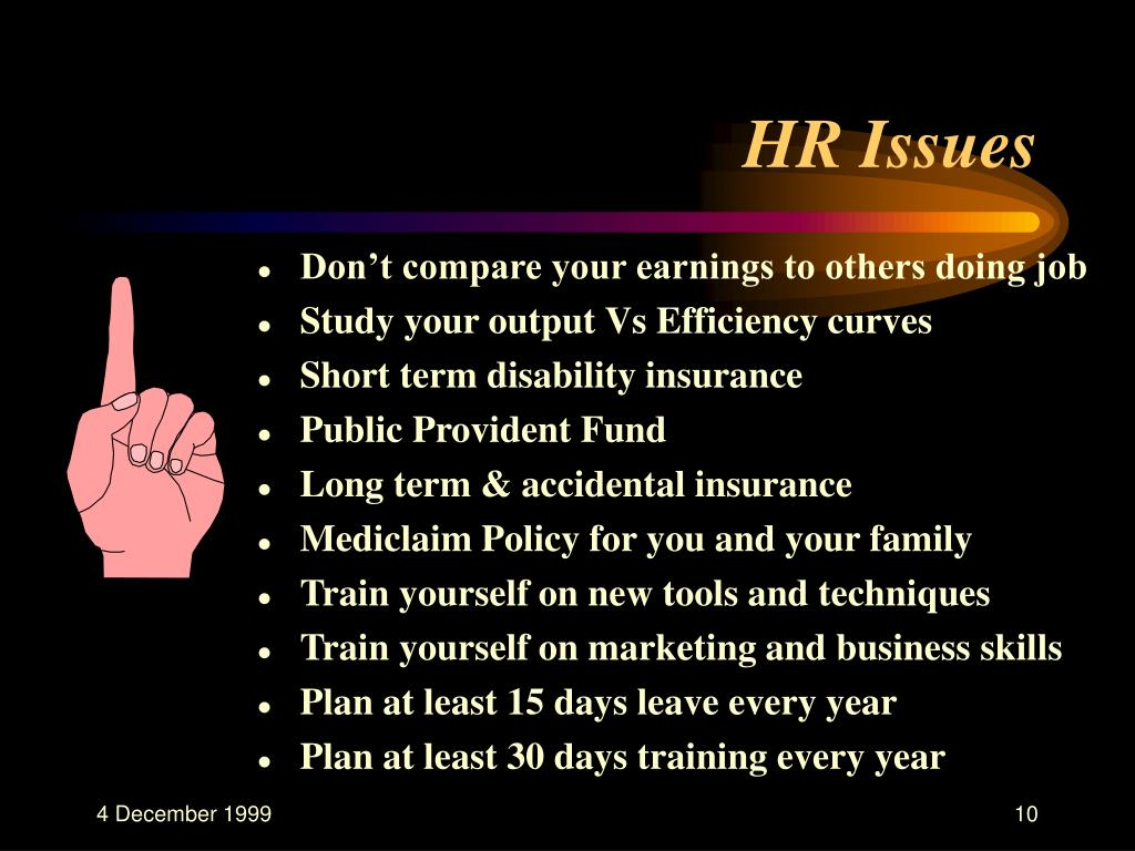 HR Issues