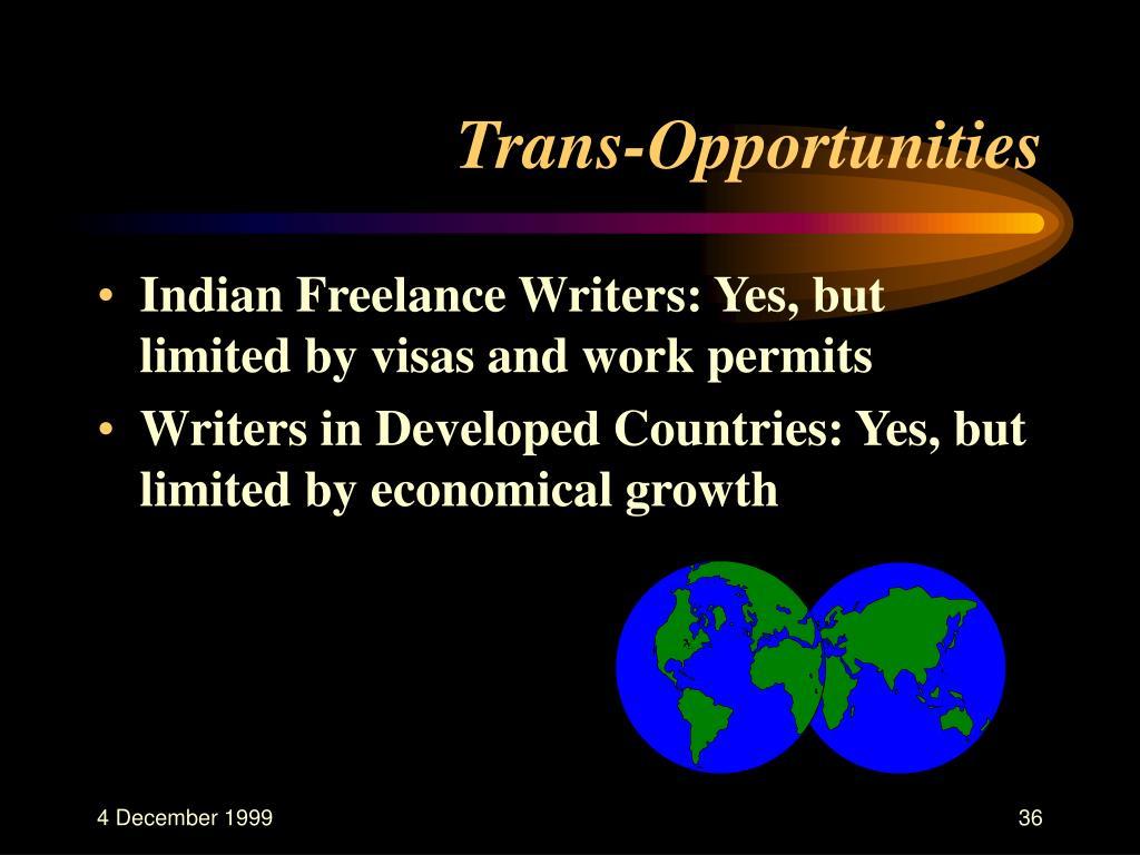 Trans-Opportunities