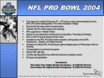 nfl pro bowl 2004