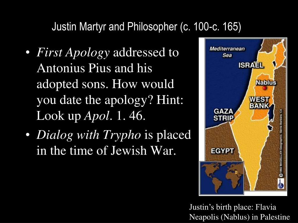 a brief review of justin martys diologue with trypho