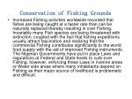 conservation of fishing grounds