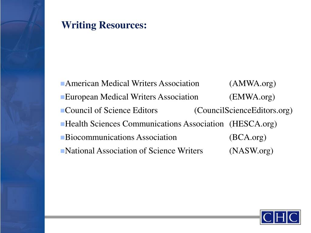 Writing Resources: