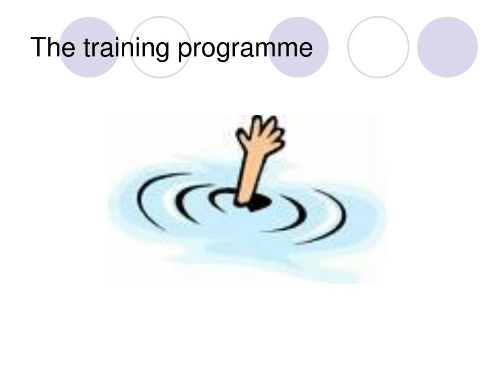 The training programme