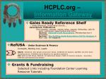hcplc org information gateway