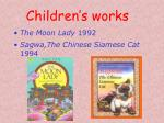 children s works