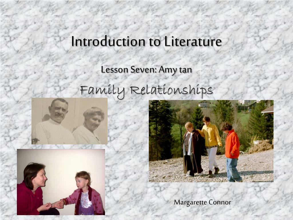 introduction to literature l.