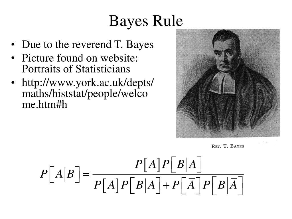 Bayes Rule