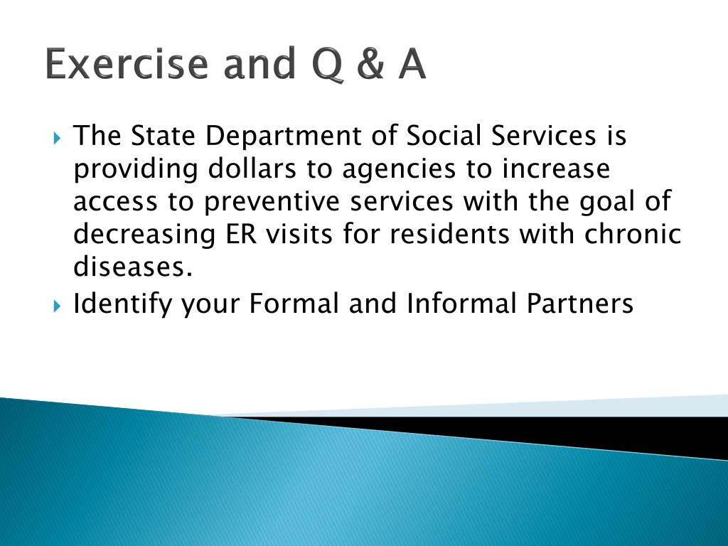 Exercise and Q & A