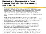 muchnick v thomson corp in re literary works in elec database 509 f 3d 116