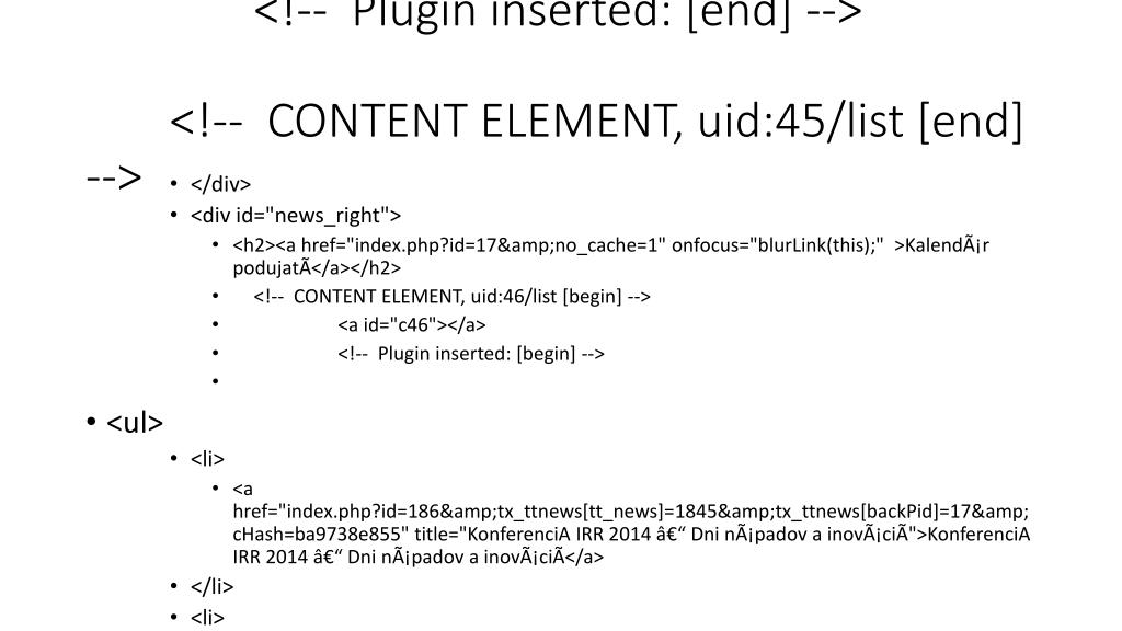 <!--  Plugin inserted: [end] -->  <!--  CONTENT ELEMENT, uid:45/list [end] -->
