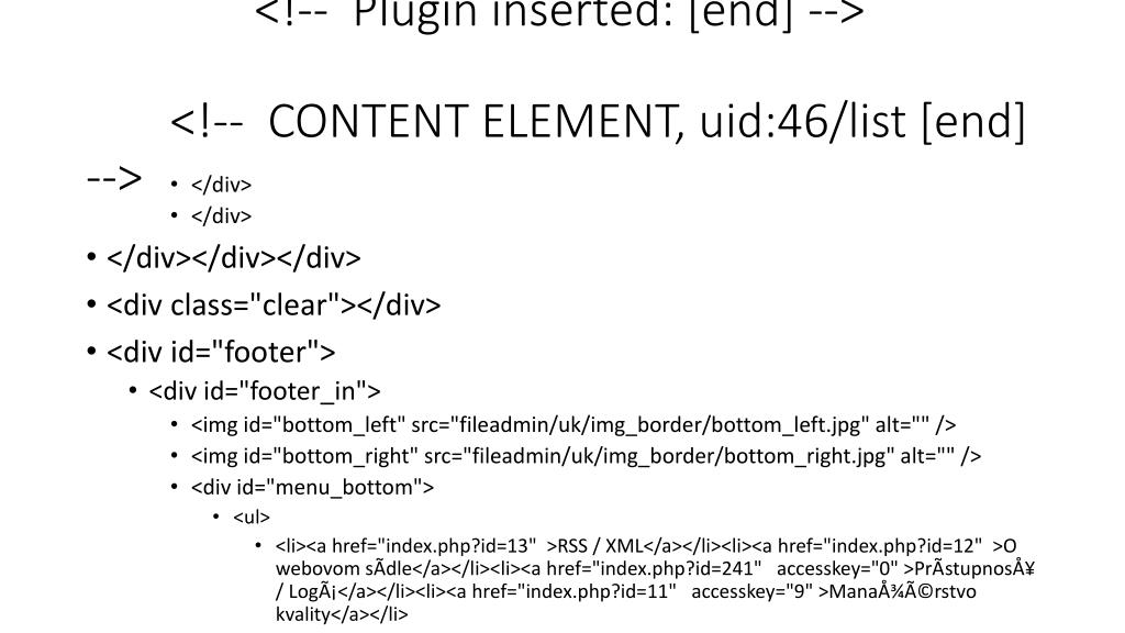 <!--  Plugin inserted: [end] -->  <!--  CONTENT ELEMENT, uid:46/list [end] -->