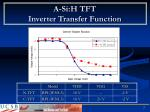 a si h tft inverter transfer function