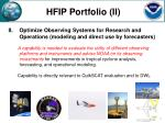 hfip portfolio ii