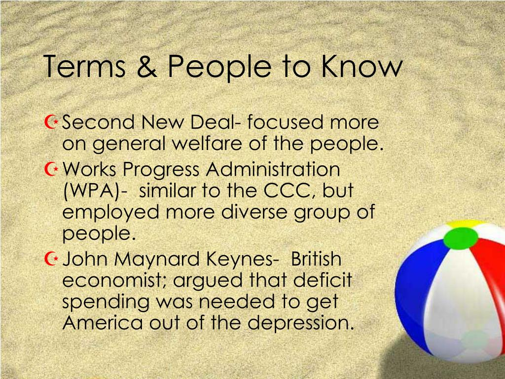 Terms & People to Know