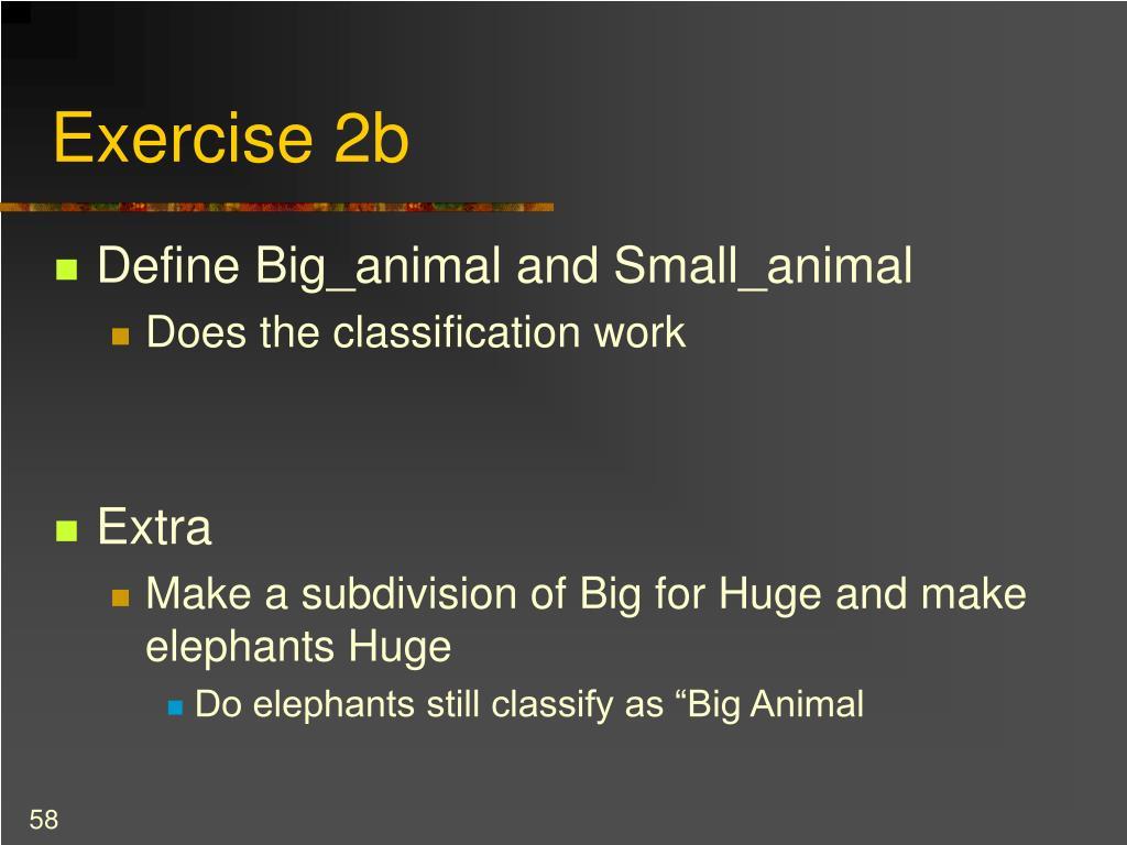 Exercise 2b