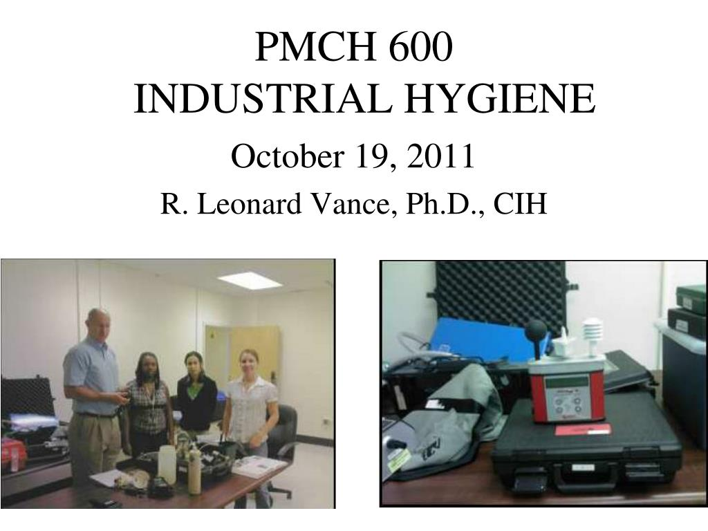 pmch 600 industrial hygiene l.