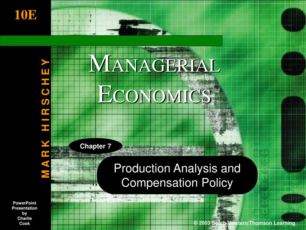 chapter 5 production and cost analysis Cost analysis is a comparison of costs costs used to prepare financial statements are not the same as those used to control operations total cost is the relationship between production quantity and costs, expressed as: total cost = fixed cost + variable cost  output.