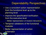 dependability perspectives