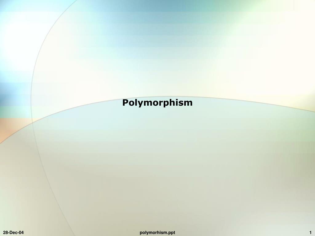 polymorphism l.