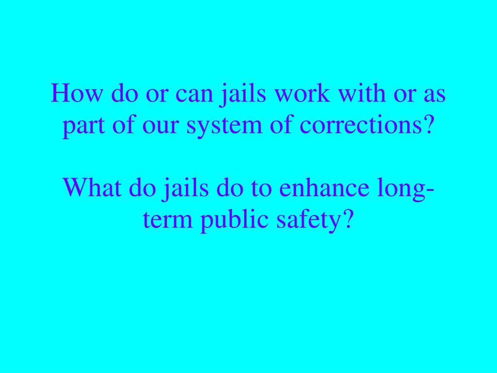 "how does our correctional system punish offenders Beccaria wrote that ""the purpose of punishment is not to torment a sensible being ,  suspends incarceration and has a probation agent supervise the offender."