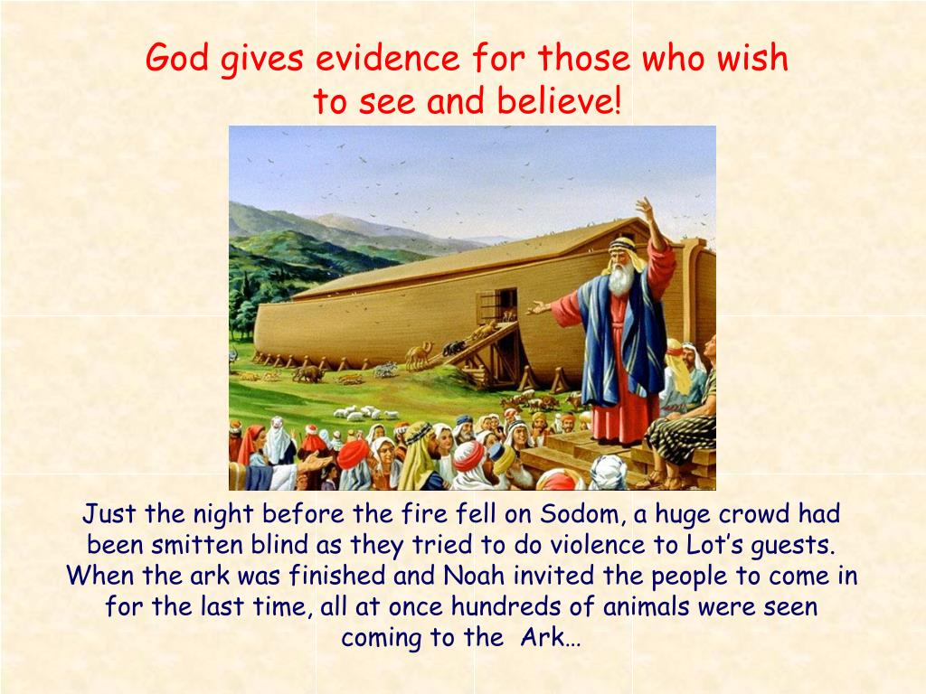 God gives evidence for those who wish to see and believe!