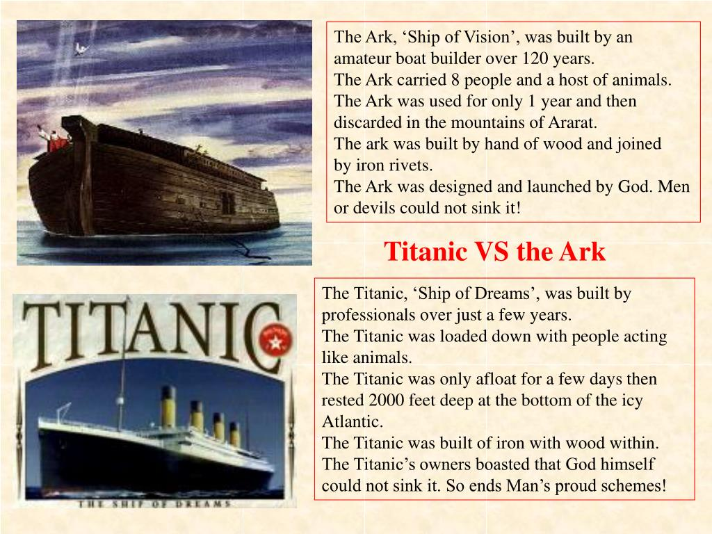 The Ark, 'Ship of Vision', was built by an amateur boat builder over 120 years.
