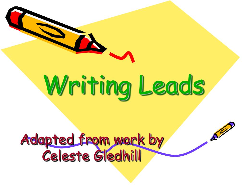 writing leads l.