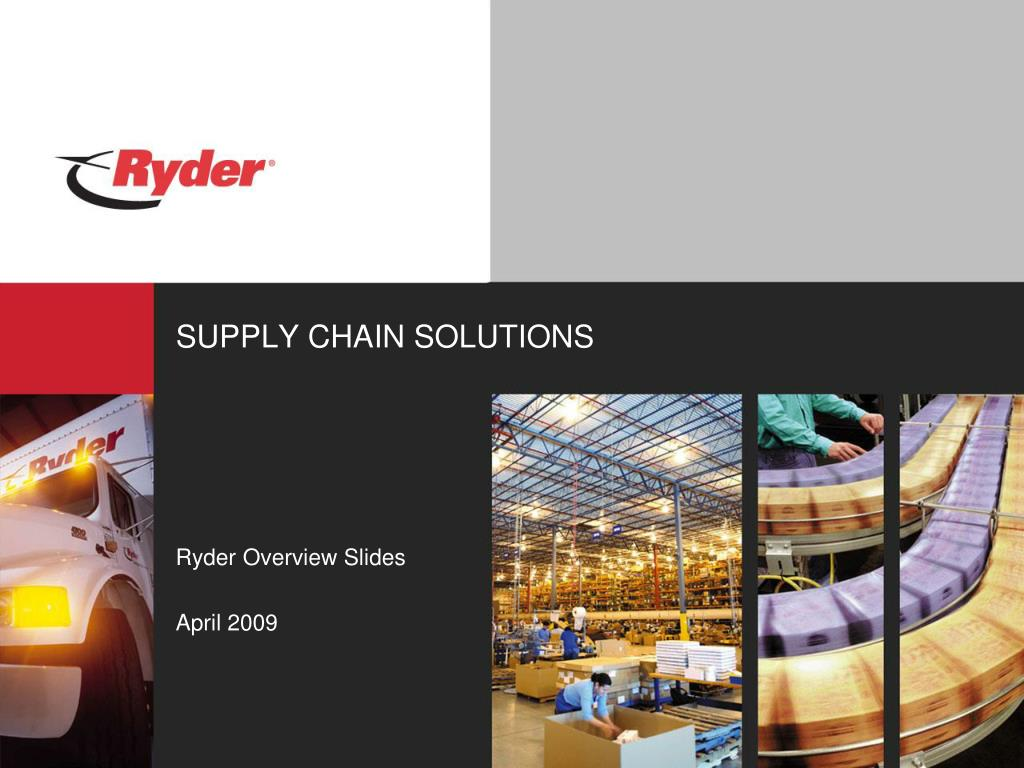 supply chain solutions l.