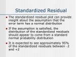 standardized residual42