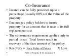 co insurance