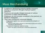 mass merchandising