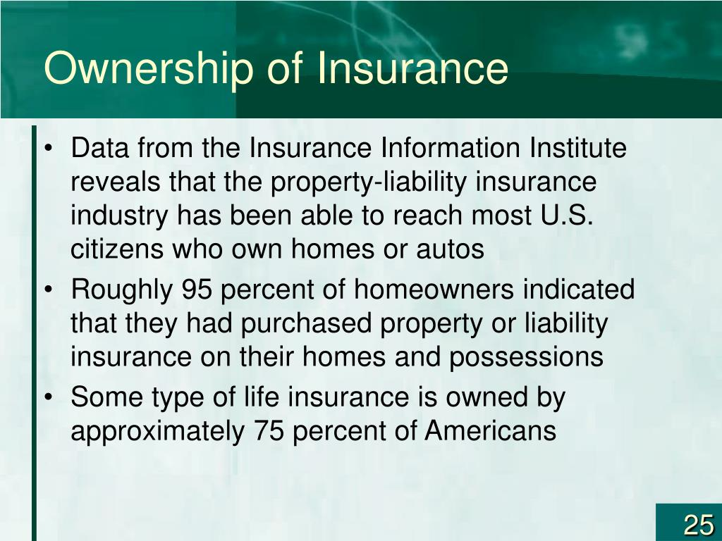 Ownership of Insurance