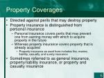 property coverages