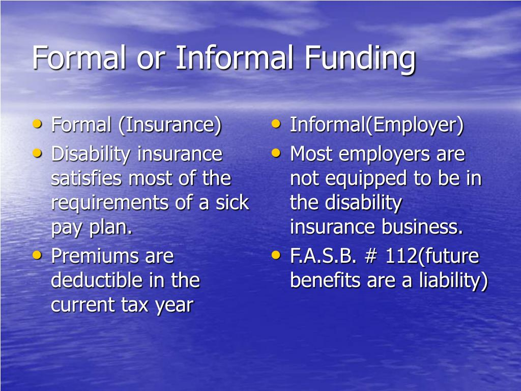 Formal (Insurance)
