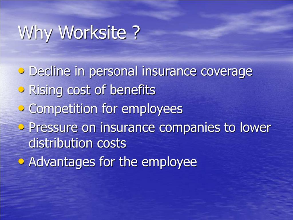 Why Worksite ?