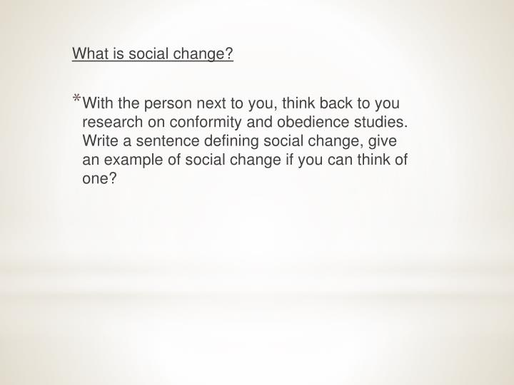 Ppt Implications Of Social Change Powerpoint Presentation Id685125