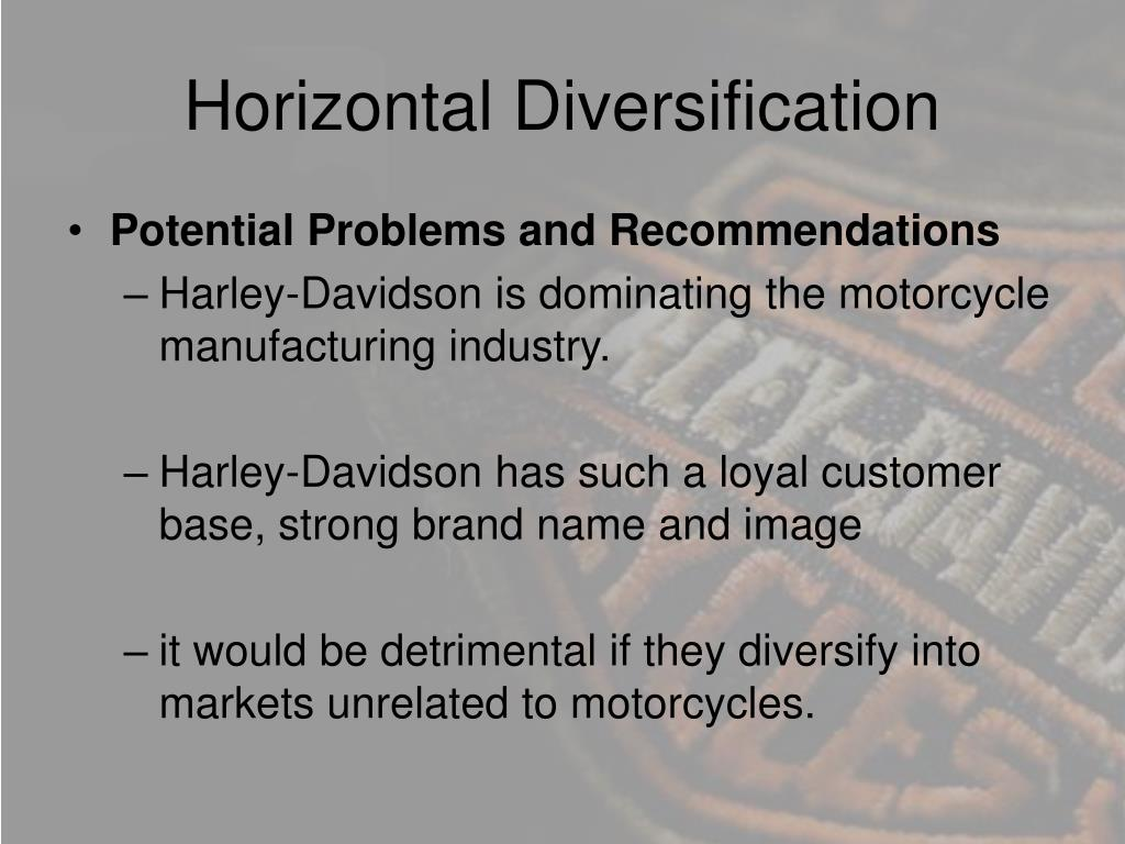 Horizontal Diversification