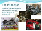 the inspection33