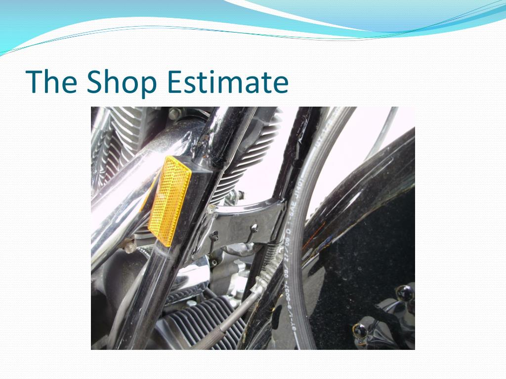 The Shop Estimate