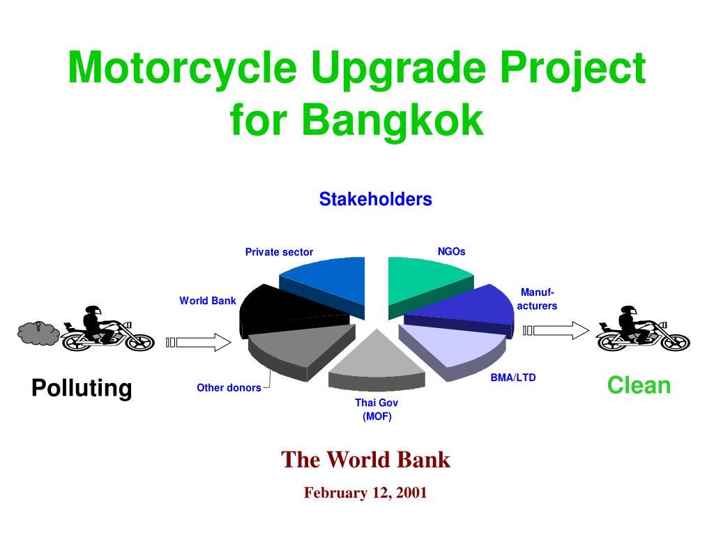 motorcycle upgrade project for bangkok l.