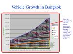 vehicle growth in bangkok