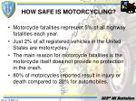how safe is motorcycling17