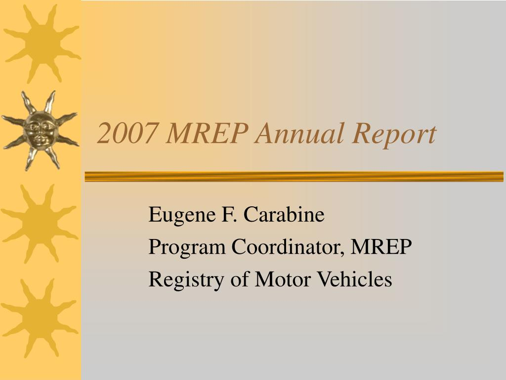 2007 mrep annual report l.