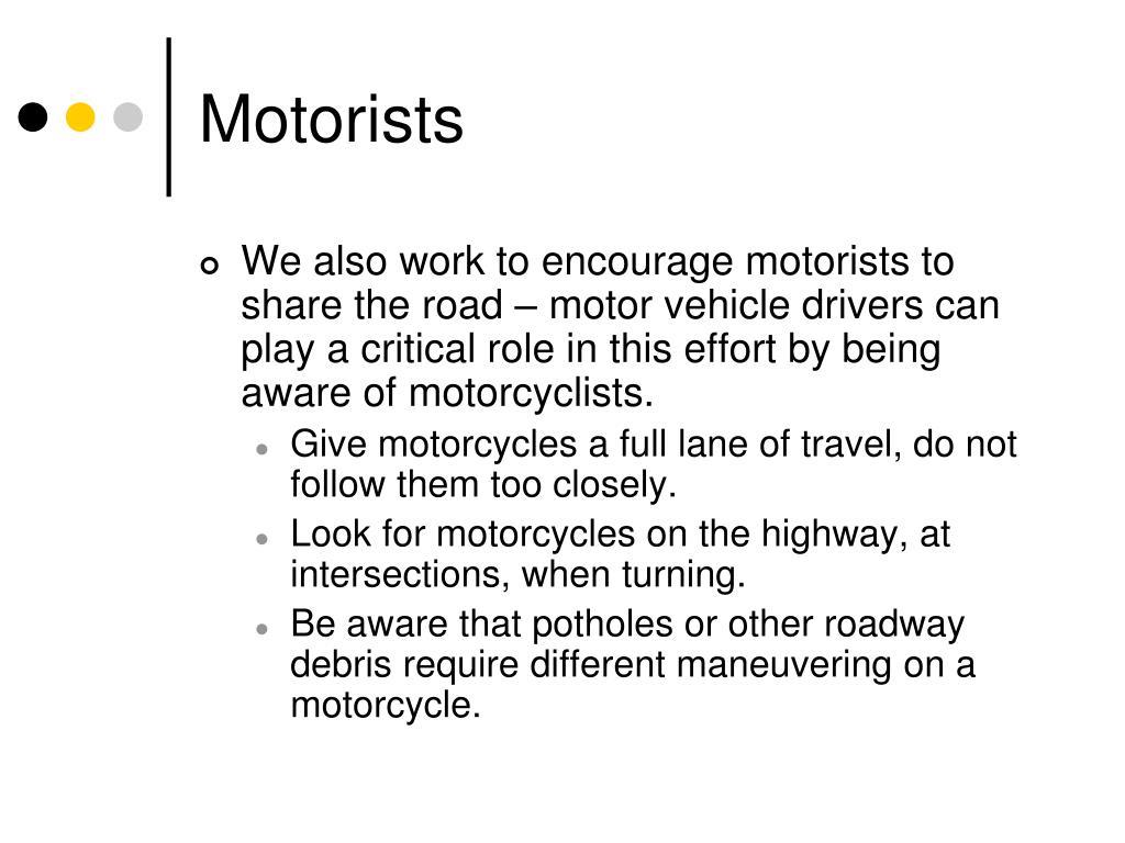 Motorists