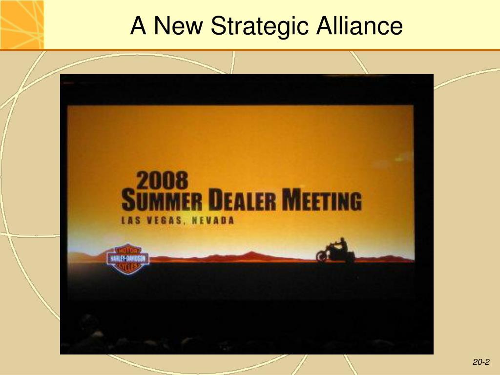 A New Strategic Alliance