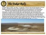 the dakar rally