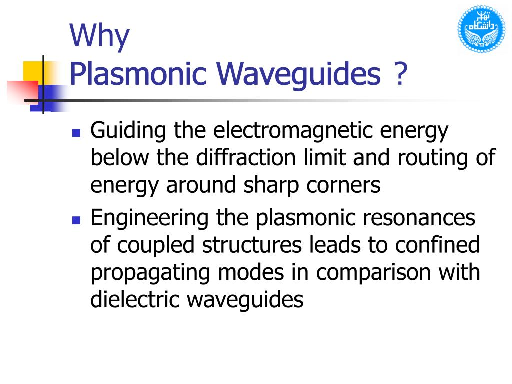 Plasmonic Waveguides