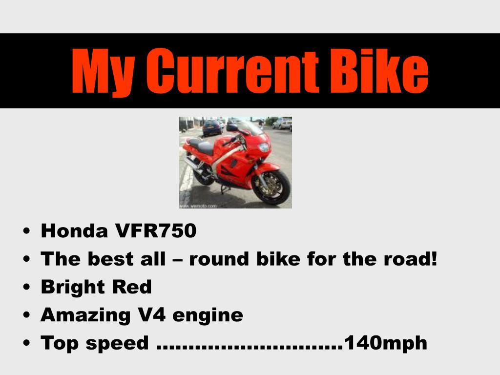 My Current Bike